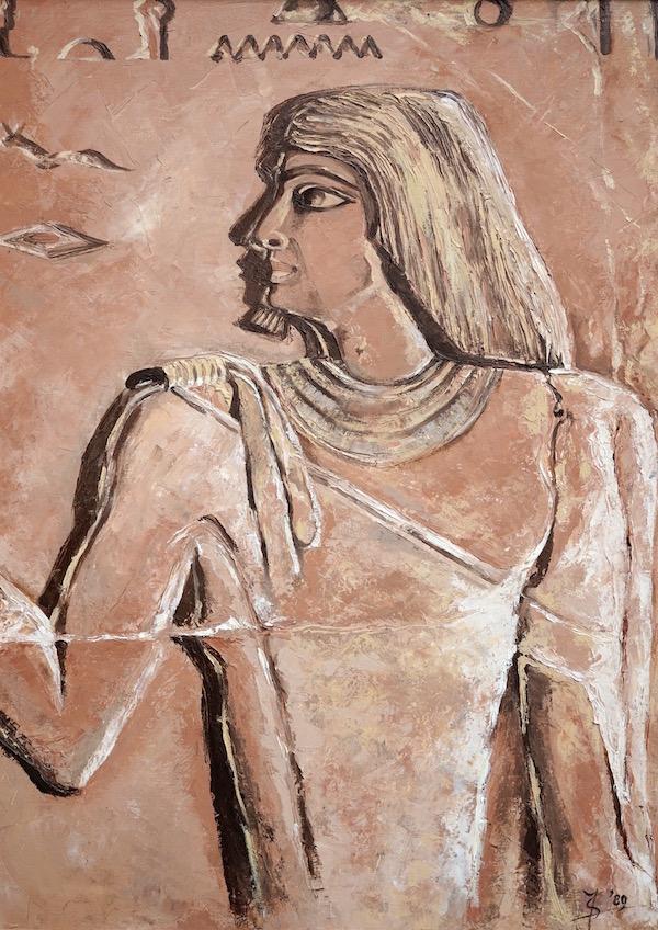 Egyptisch reliëf